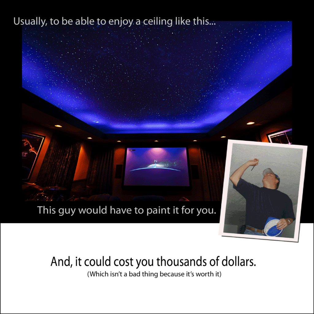 Night Sky Murals DIY KIT pic