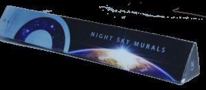Night Sky Murals DIY Stencil box