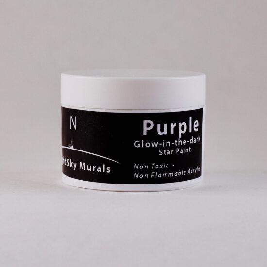 Glowing Purple paint