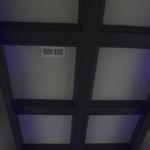 Night Sky Murals Stenciled ceiling in light